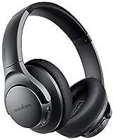 Auriculares Bluetooth Over Ear SoundcoreLifeQ20, cancelación de Ruido Activa, 30Horas de reproducción, Audio de Alta...