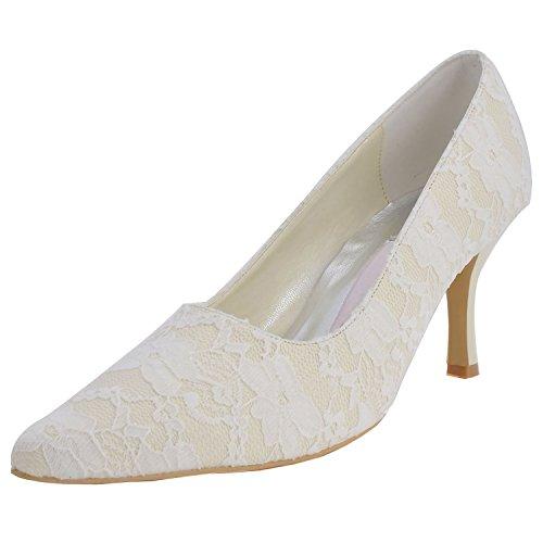 Kevin Fashion , Chaussures de mariage à la mode femme Jaune - Amarillo - amarillo
