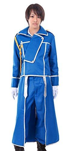 Erwachsene Kostüme Hawkeye (De-Cos Fullmetal Alchemist State Military Hawkeye Riza Roy Mustang)
