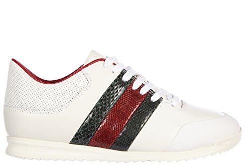 Gucci scarpe sneakers donna in pelle nuove miro soft moorea bianco EU 40 370499 AYOK0 9069