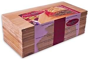 Piastre in legno di cedro per griglia – Confezione da 12 / Cedar Grilling Planks - 12 Pack