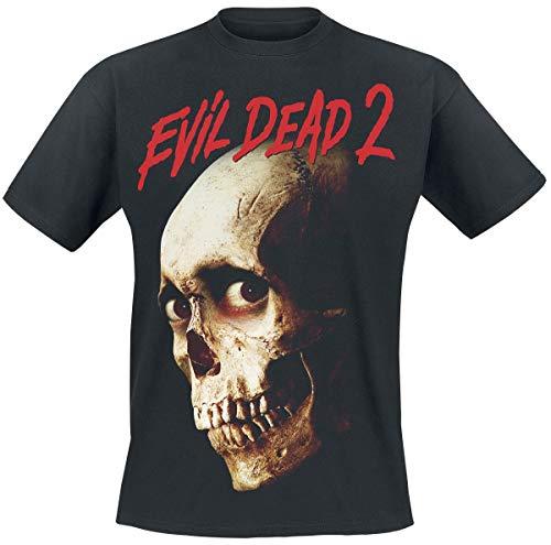 Evil Dead 2 - Skull T-Shirt schwarz L