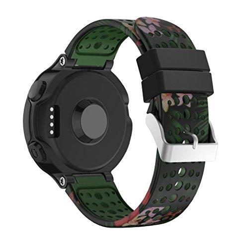 Für Garmin Forerunner 235 watch Armband ,YaYuu Forerunner 235 Uhrenarmband weichen Silikon Ersatzarmband für Garmin Forerunner 235/220/230/620/630/735 Smart Watch Armband