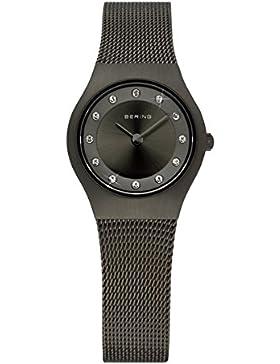 Bering Time Damen-Armbanduhr Classic Analog Edelstahl beschichtet 11923-222