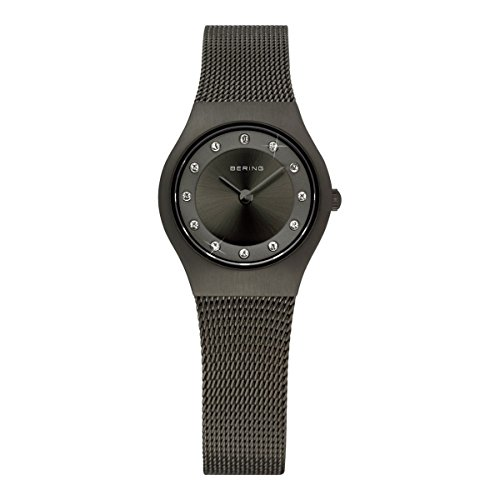 BERING Damen-Armbanduhr Analog Quarz Edelstahl 11923-222