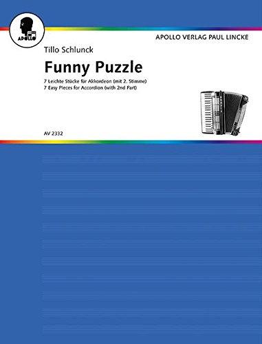 Funny Puzzle: Ganz leichte Stücke. Akkordeon mit 2. Stimme ad libitum. (Power Engineering Willis)