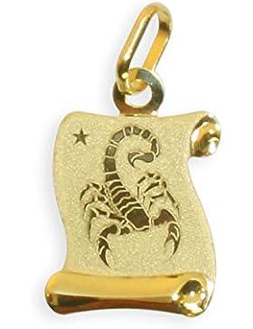 Sternzeichen Anhänger Skorpion 14 Karat Gold 585 (213308) GRATIS-SOFORT-GRAVUR