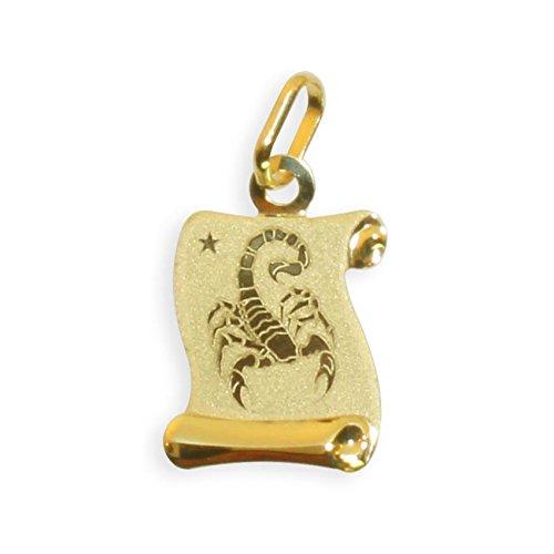 Sternzeichen Anhänger Skorpion 14 Karat Gold 585 (213308) Gratis Express Gravur