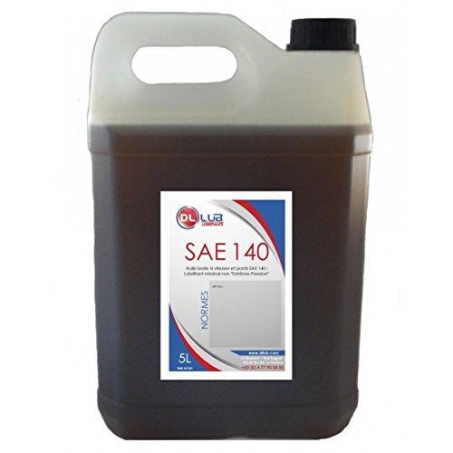 DLLUB – HUILE SAE 140 : HUILE BOITE ET PONT MINÉRALE – 5 litres pas cher