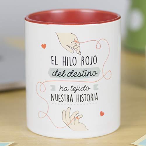La Mente es Maravillosa - Taza frase amor dibujo romántico