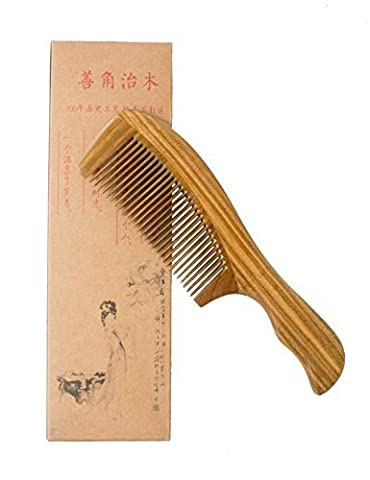 Natural Green Sandalwood Wood Comb-handmade,portable with Aromatic Smell (Normal Size) by Supagoo (Graue Geist Kostüm)