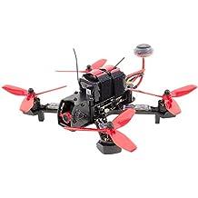 Walkera 15004700 - Furious 215 Racing-Quadrocopter RTF - FPV-Drohne mit HD Kamera, Akku, Ladegerät und Devo 7 Fernsteuerung