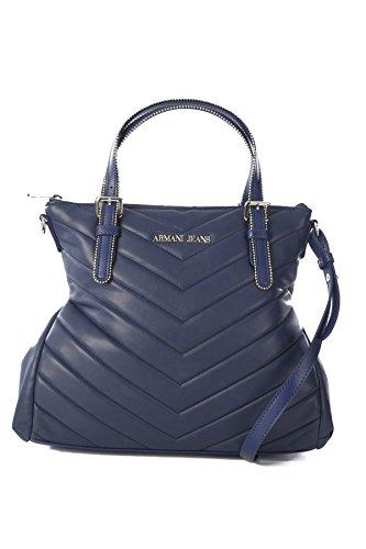 Armani 095229_922158, Sac pour femme à porter à l'épaule Bleu bleu TU