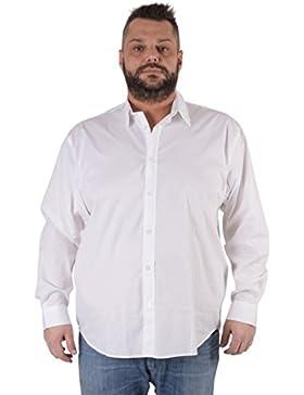 Camicia Maxfort taglie forti uomo modello London manica lunga