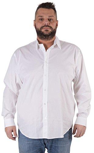 Maxfort camicia london taglie forti uomo - grigio scuro, 8xl