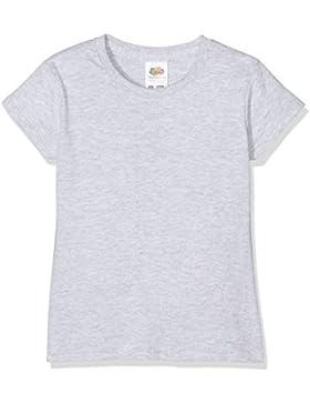 Fruit of the Loom Mädchen T-Shirt Sofspun®