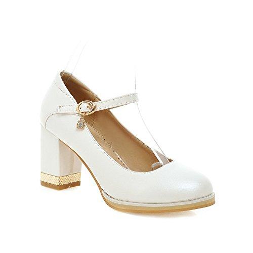 Adee Mesdames Princesse polyuréthane pumps-shoes Blanc - blanc