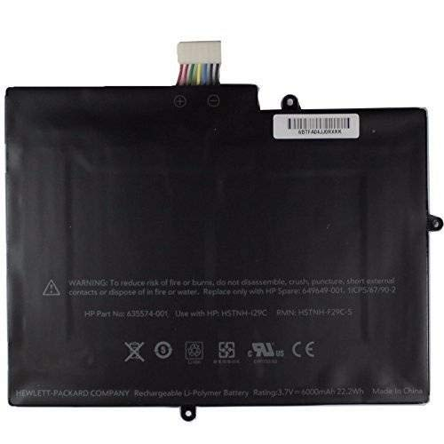 BPX Laptop Battery HSTNN-I29C F29C-S 635574-001 22.2Wh 3.7v for HP TouchPad 9.7''