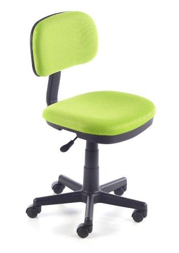 Due-home Silla de escritorio silla infantil malla 3D, color verde