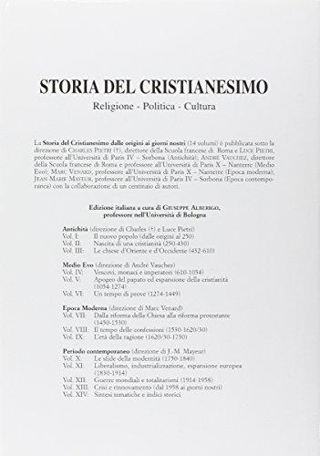 Storia del cristianesimo. Religione, politica, cultura: 14