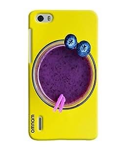 Omnam Berry Juice Printed Designer Back Case Hauwei Honor 6