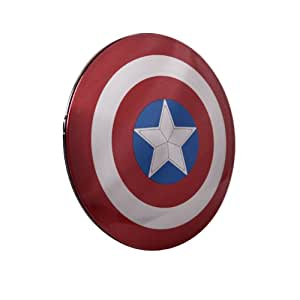 Marvel Avengers Captain America Shield Power Bank 6800mAh Ultra Slim Dual USB PowerBank External Battery Pack Compatible With: iPhone, SAMSUNG mobile, HTC mobile, Motorola mobile, LG mobile, all Mobile phone, MP3/4 player, PSP player, Apple Ipads