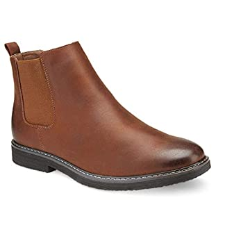 Xray Men's Levi Chelsea Boot, Brown, Size 13.5 US/US 11