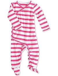 aden + anais Pink Blazer Stripe Combinaison/Barboteuse à Manches Longues FormeKimono