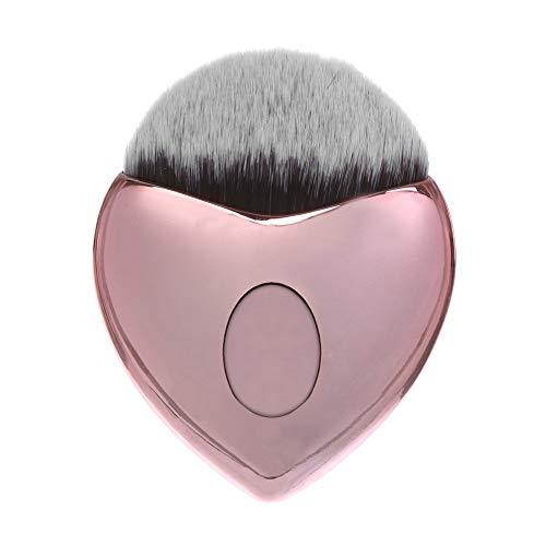 Mitlfuny Gesundheit Und SchöNheitDIY Dekoration 2019,Herzform-Make-upbürste-untere Bürsten-Puder erröten kosmetische Bürste