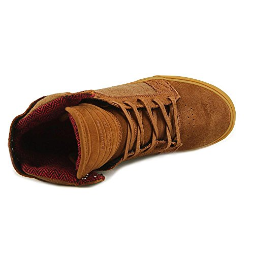 Supra Skytop, Baskets Basses Homme Marron