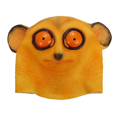 Werkzeuge Crying Face Mask, Horror Ghost Kopfbedeckung Monster für Halloween Party Dekoration Hinterzimmer Film Requisiten (Size : 10#) ()