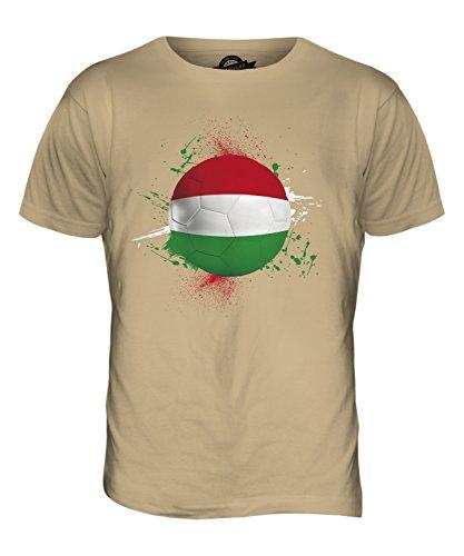 CandyMix Ungarn Fußball Herren T Shirt Sand