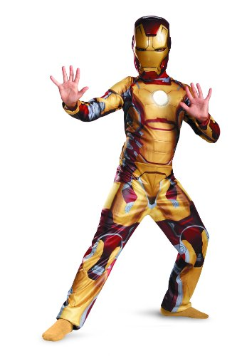 Iron Man 3 Kinder Jungen Halloween Fasching Karneval Kostüm Large 140-152
