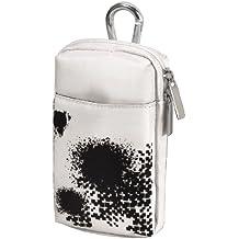 "Hama""Dog"" XL Bag for PSP Go - Caja (Nylon, Negro, Color blanco, PSP Go, 85 mm, 32 mm, 140 mm)"