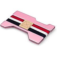 TENDYCOCO Aluminiumlegierung Karte Box Kreditkarteninhaber Geldb/örse Mit Blockieren Anti-Entmagnetisierb/ürste Bankkarten Kreditkarte Box