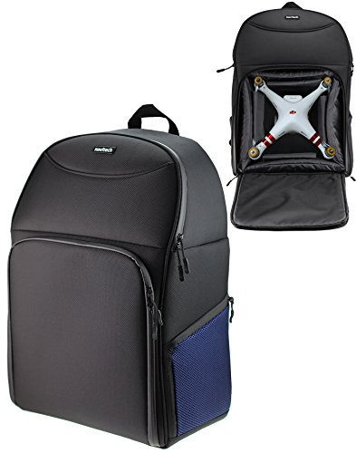 Navitech Hartschalen Reise Schulter Rucksack Backpack Bag Case Kasten für DJI Phantom Phantom 3 4K / Phantom 3 Advanced / 3 Professional
