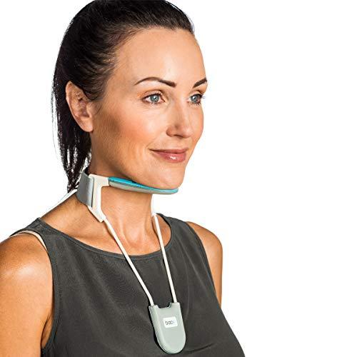BACK - Collarín cervical - Para aliviar el dolor y mejorar la postura del cuello - Azul - Mediano