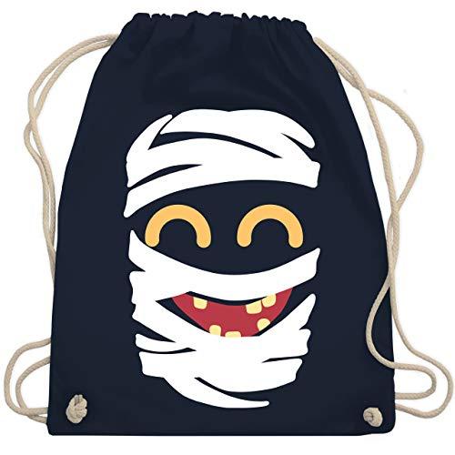 (Karneval & Fasching - Mumie Karneval Kostüm - Unisize - Navy Blau - WM110 - Turnbeutel & Gym Bag)