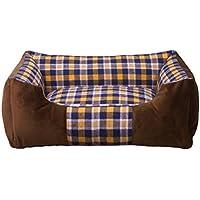 Cálido antideslizante felpa camas para perros Perro cómodo sofá para mascotas casa y sofá, habitación