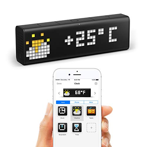 LaMetric Time - smarte WLAN-Uhr - Iphone-net Radio