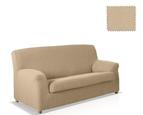 JM Textil Copridivano 2 Pezzi Alana Dimensione 2 posti (da 130 a 160 cm.), Colore 01 (Vari Colori Disponibili.)