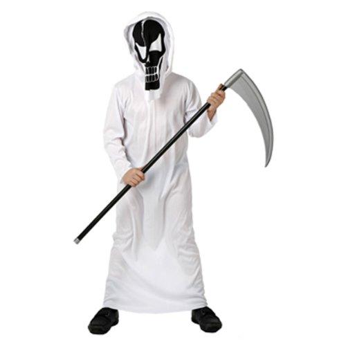 Costume da Morte Bianco Taglia 5/6 Anni_95288