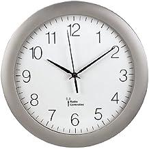 Hama Funk Wanduhr Küchenuhr (leise, 30cm Groß, Automatische Zeitanpassung  Und Zeitumstellung Von