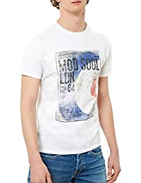 T- Shirt Pepe Jeans Galloway Blanc