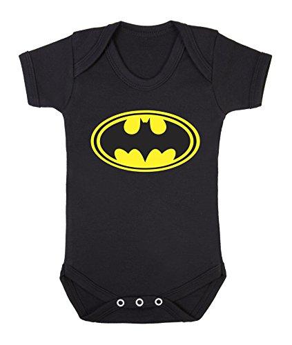 Lustiger Baby-Strampler, Body mit Batman-Motiv 0-3 Monate