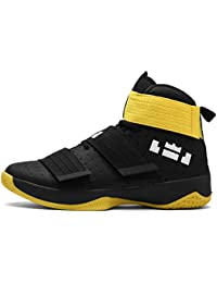 GNEDIAE Hombre Mujer High-Top Zapatilla Baloncesto Calzado Deportivo Al Aire Libre Moda Sneaker Antideslizante Zapatillas de Deporte Ligeros Zapatos para Correr Transpirable Lace Up
