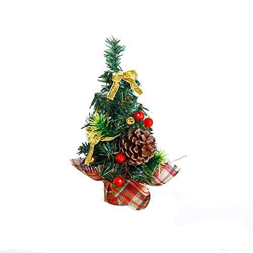 Big-Mountain -Mini Desktop Weihnachtsbaum | 20cm | Frohe Weihnachten Baum Schlafzimmer Schreibtisch Dekoration Spielzeug Puppe Geschenk...