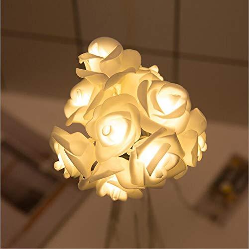 W&z luce stringa interni led stringa luci decorazione rosa illuminazioni per albero di natale camera giardino compleanno feste matrimonio,10leds