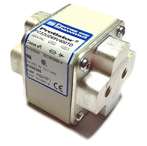 400a Fuse (K300366C | K300366 | K300366 | MERSEN (FERRAZ) FUSE 400A 660VAC TWIN STUD)