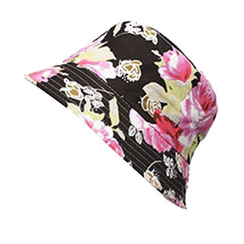 Plage Surker femmes Petite Floral Hat Sun Hat Freshman Hat 2